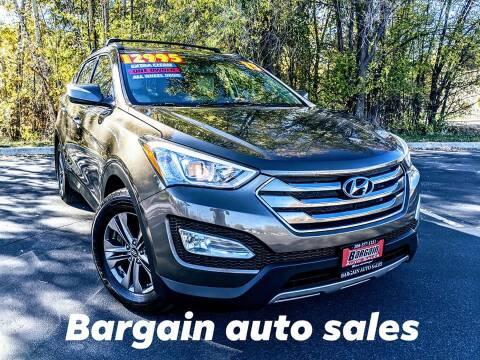 2013 Hyundai Santa Fe Sport for sale at Bargain Auto Sales LLC in Garden City ID