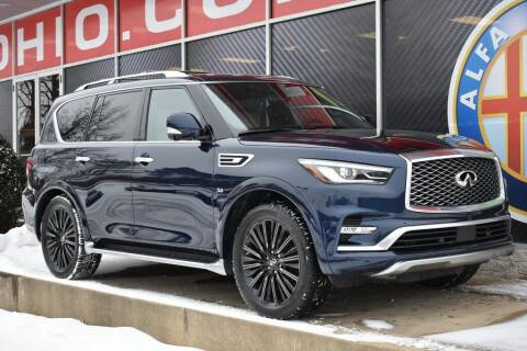 2019 Infiniti QX80 for sale at Alfa Romeo & Fiat of Strongsville in Strongsville OH