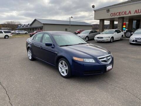 2006 Acura TL for sale at Osceola Auto Sales and Service in Osceola WI