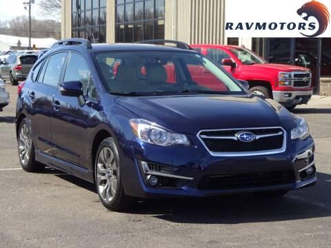 2016 Subaru Impreza for sale at RAVMOTORS 2 in Crystal MN