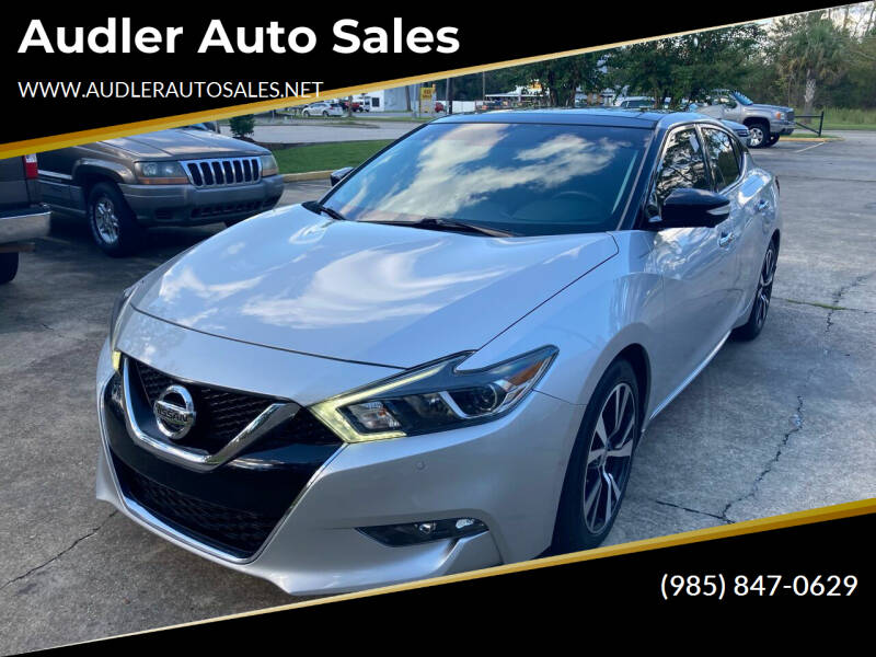 2018 Nissan Maxima for sale at Audler Auto Sales in Slidell LA