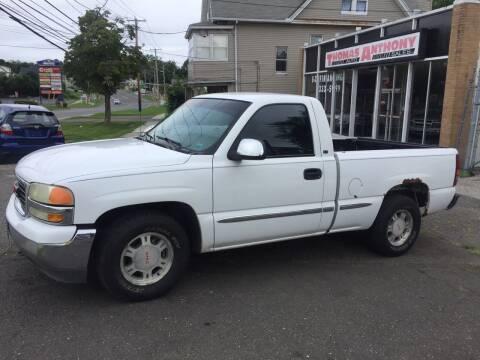 2002 GMC Sierra 1500 for sale at Thomas Anthony Auto Sales LLC DBA Manis Motor Sale in Bridgeport CT