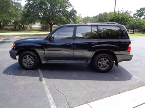 2002 Lexus LX 470 for sale at BALKCUM AUTO INC in Wilmington NC
