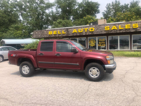 2008 Chevrolet Colorado for sale at BELL AUTO & TRUCK SALES in Fort Wayne IN