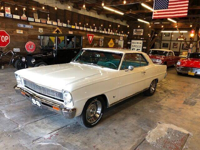 1966 Chevrolet Nova for sale at Route 40 Classics in Citrus Heights CA