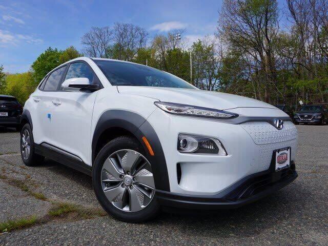 2021 Hyundai Kona EV for sale at Mirak Hyundai in Arlington MA