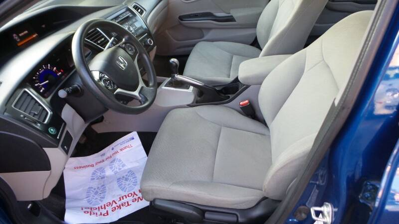 2013 Honda Civic LX 4dr Sedan 5M - Albany NY