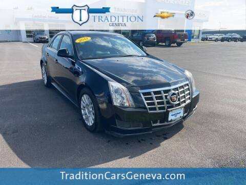 2012 Cadillac CTS for sale at Tradition Chevrolet Buick in Geneva NY