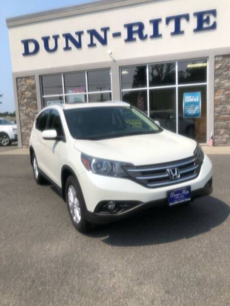 2014 Honda CR-V for sale at Dunn-Rite Auto Group in Kilmarnock VA