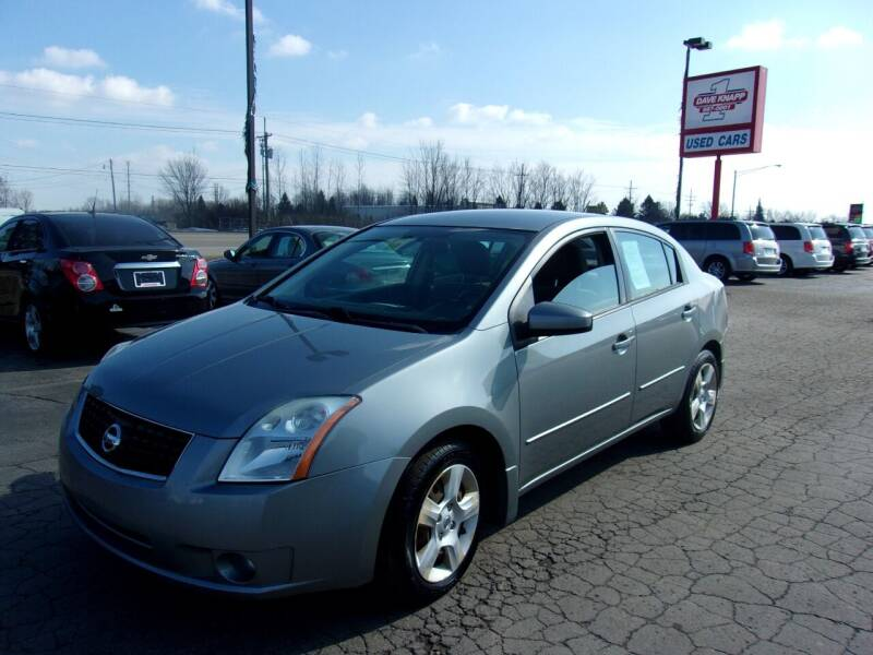 2008 Nissan Sentra for sale at DAVE KNAPP USED CARS in Lapeer MI