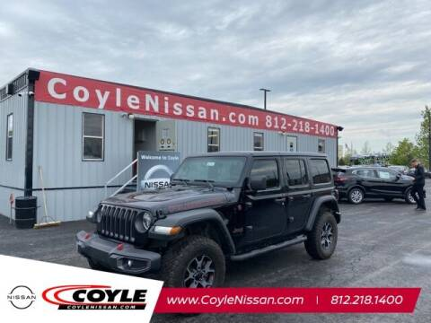 2019 Jeep Wrangler Unlimited for sale at COYLE GM - COYLE NISSAN - New Inventory in Clarksville IN