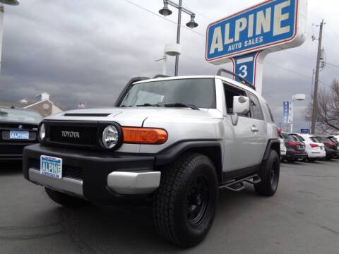 2007 Toyota FJ Cruiser for sale at Alpine Auto Sales in Salt Lake City UT