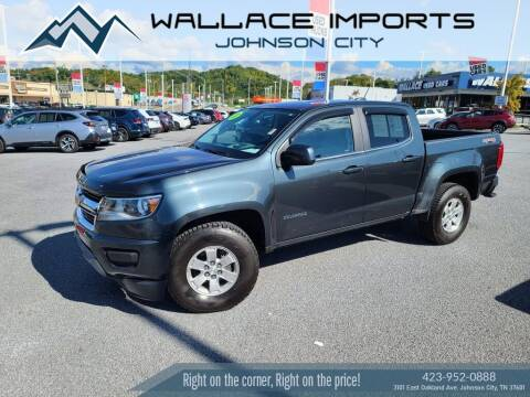 2017 Chevrolet Colorado for sale at WALLACE IMPORTS OF JOHNSON CITY in Johnson City TN