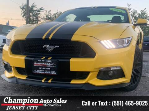 2015 Ford Mustang for sale at CHAMPION AUTO SALES OF JERSEY CITY in Jersey City NJ
