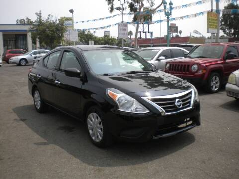 2017 Nissan Versa for sale at AUTO SELLERS INC in San Diego CA
