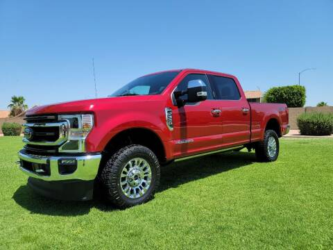 2021 Ford F-350 Super Duty for sale at AZ WORK TRUCKS AND VANS in Mesa AZ