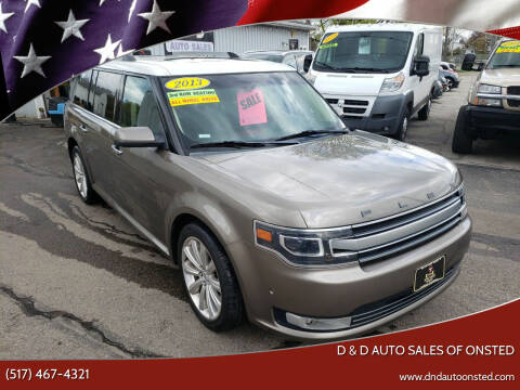 2013 Ford Flex for sale at D & D Auto Sales Of Onsted in Onsted MI