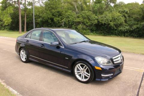 2012 Mercedes-Benz C-Class for sale at Clear Lake Auto World in League City TX