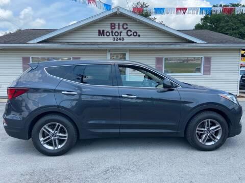 2017 Hyundai Santa Fe Sport for sale at Bic Motors in Jackson MO