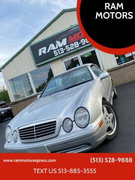 2001 Mercedes-Benz CLK for sale at RAM MOTORS in Cincinnati OH
