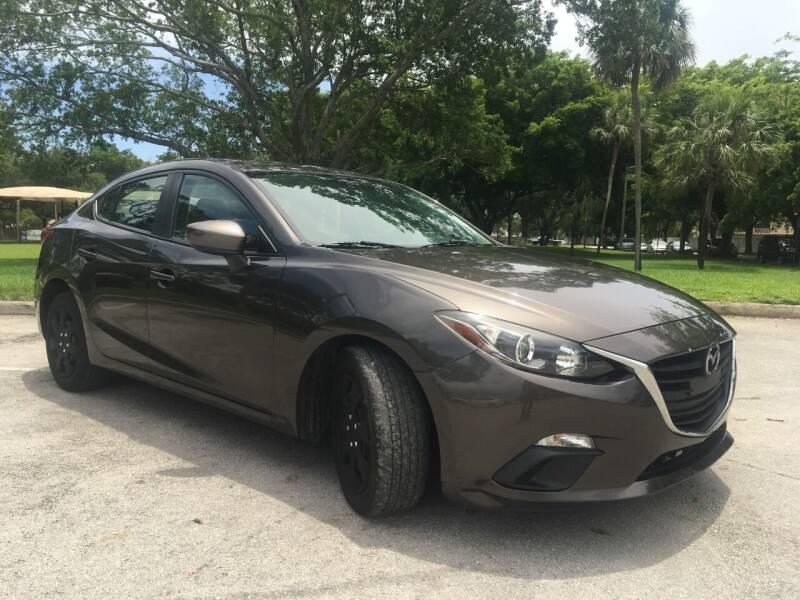 2015 Mazda MAZDA3 for sale in Hollywood, FL