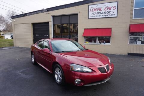 2007 Pontiac Grand Prix for sale at I-Deal Cars LLC in York PA