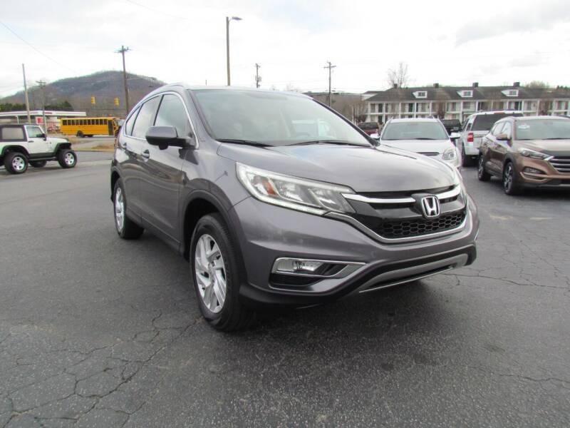 2015 Honda CR-V for sale at Hibriten Auto Mart in Lenoir NC