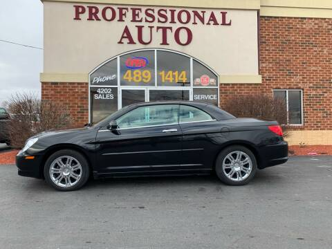 2008 Chrysler Sebring for sale at Professional Auto Sales & Service in Fort Wayne IN