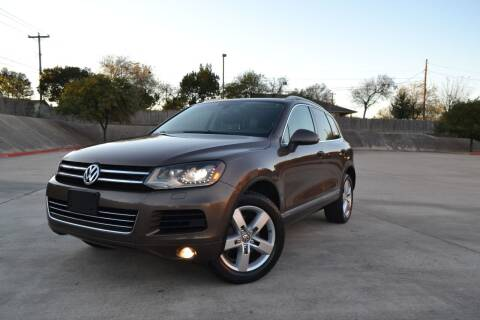2012 Volkswagen Touareg for sale at Royal Auto LLC in Austin TX