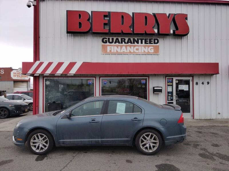 2012 Ford Fusion for sale at Berry's Cherries Auto in Billings MT