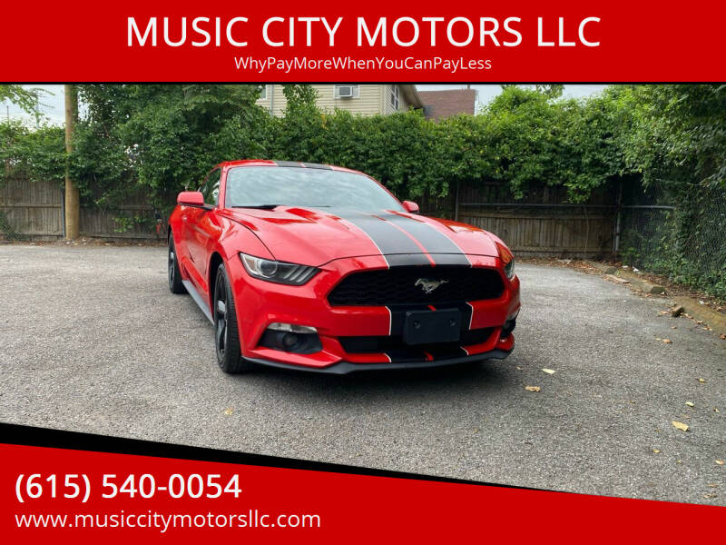 2015 Ford Mustang for sale at MUSIC CITY MOTORS LLC in Nashville TN