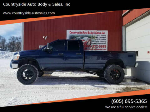 2006 Dodge Ram Pickup 2500 for sale at Countryside Auto Body & Sales, Inc in Gary SD