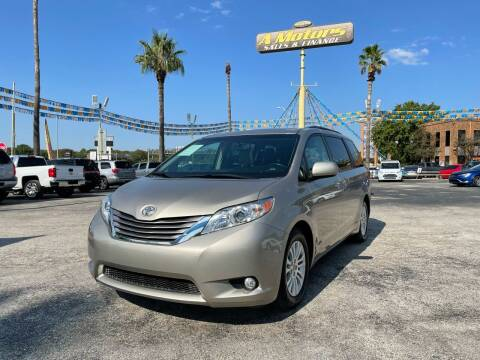 2016 Toyota Sienna for sale at A MOTORS SALES AND FINANCE - 5630 San Pedro Ave in San Antonio TX