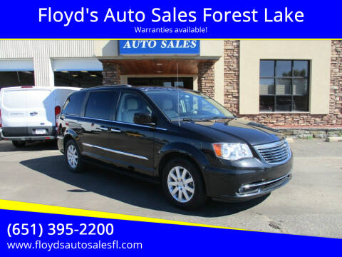 2016 Chrysler Town and Country for sale at Floyd's Auto Sales Forest Lake in Forest Lake MN