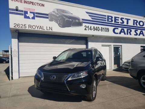 2014 Lexus RX 350 for sale at Best Royal Car Sales in Dallas TX