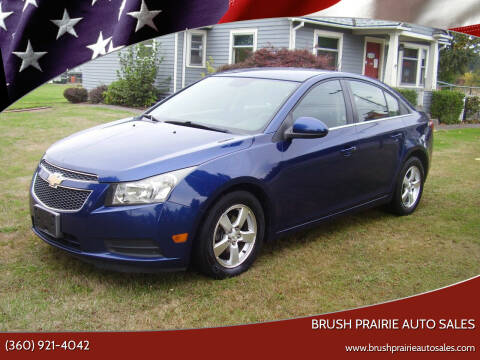 2013 Chevrolet Cruze for sale at Brush Prairie Auto Sales in Battle Ground WA