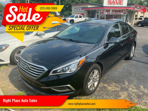 2017 Hyundai Sonata for sale at Right Place Auto Sales in Indianapolis IN