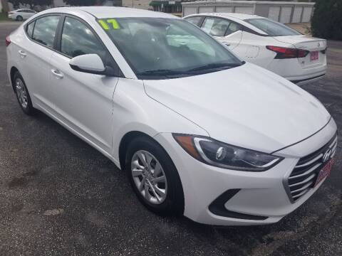 2017 Hyundai Elantra for sale at Cooley Auto Sales in North Liberty IA