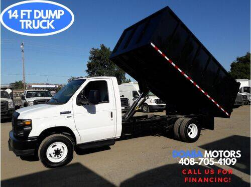 2012 Ford E-Series Chassis for sale at DOABA Motors - Dump Truck in San Jose CA