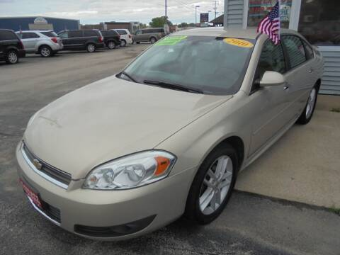 2010 Chevrolet Impala for sale at Century Auto Sales LLC in Appleton WI