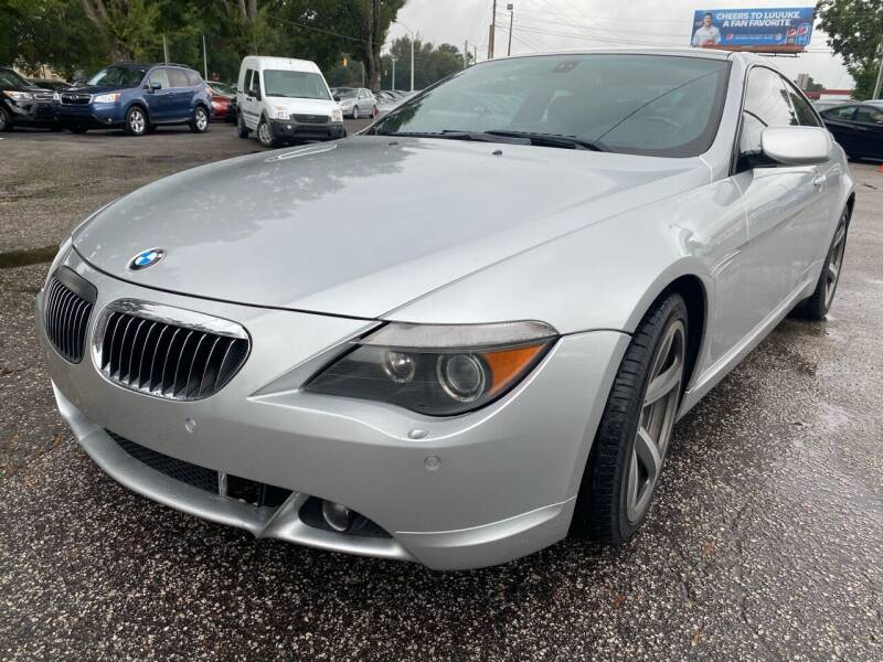 2006 BMW 6 Series for sale at Atlantic Auto Sales in Garner NC