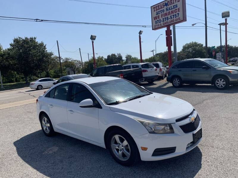 2011 Chevrolet Cruze for sale at Texas Drive LLC in Garland TX