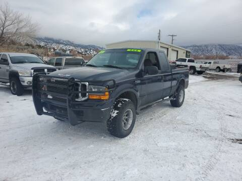 2000 Ford F-250 Super Duty for sale at Canyon View Auto Sales in Cedar City UT