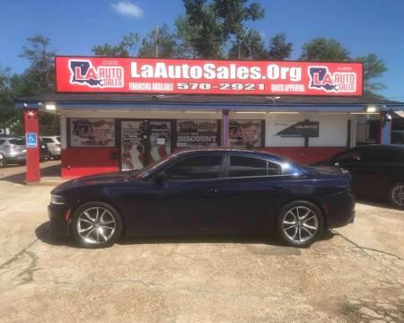 2015 Dodge Charger for sale at LA Auto Sales in Monroe LA