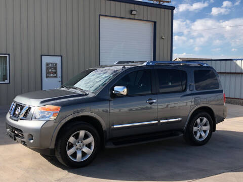2014 Nissan Armada for sale at TEXAS CAR PLACE in Lubbock TX