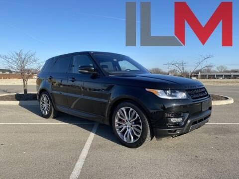 2017 Land Rover Range Rover Sport for sale at INDY LUXURY MOTORSPORTS in Fishers IN