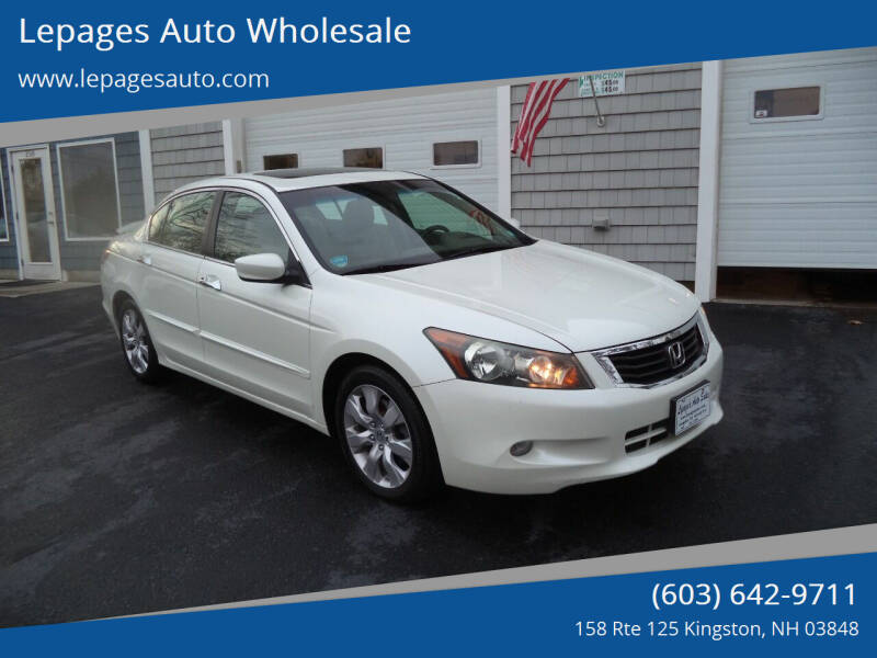 2010 Honda Accord for sale at Lepages Auto Wholesale in Kingston NH