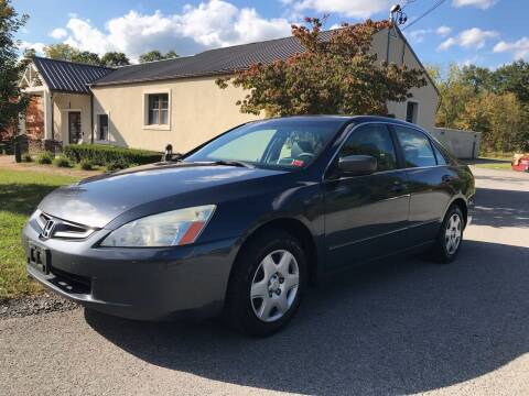 2005 Honda Accord for sale at Wallet Wise Wheels in Montgomery NY