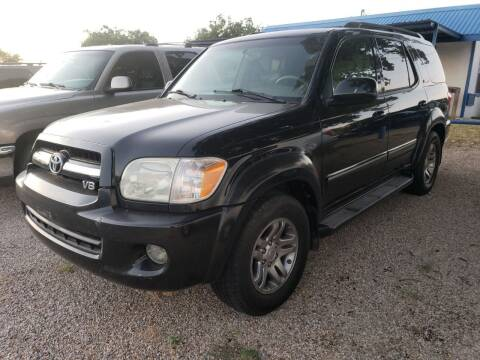 2005 Toyota Sequoia for sale at HAYNES AUTO SALES in Weatherford TX