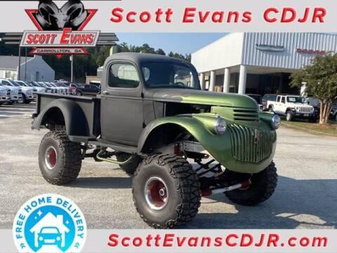 1941 Chevrolet Monster truck for sale at SCOTT EVANS CHRYSLER DODGE in Carrollton GA